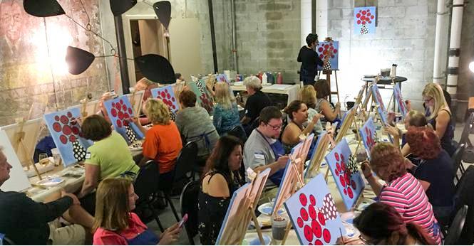 Paint Party Participants