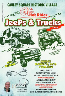 Cauley Square Jeep Show