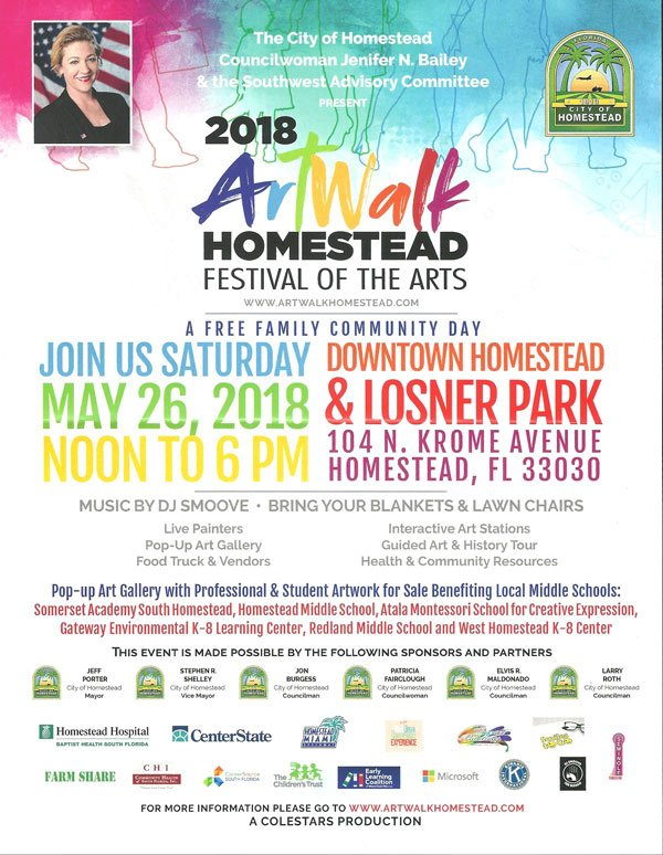 Homestead Art Walk - May, 2018