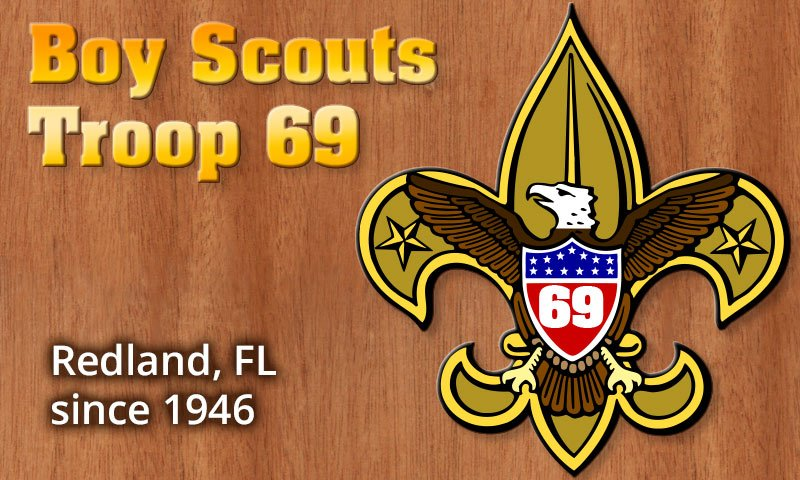 Boy Scouts Troop 69 of Redland, Florida