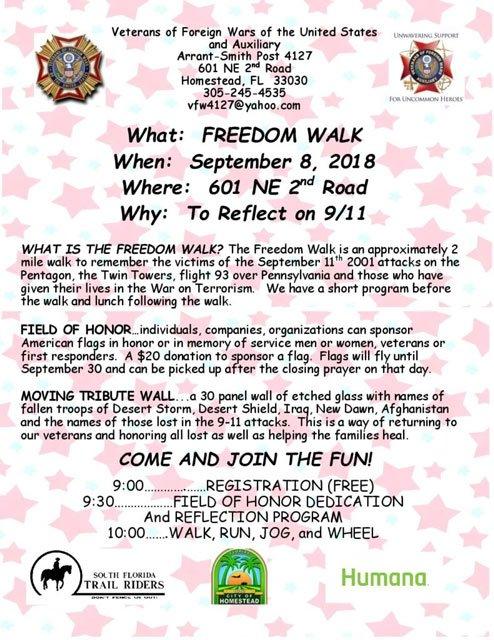Freedom Walk 2018