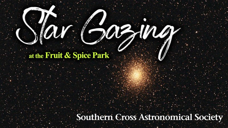 Stargazing at the Fruit & Spice Park