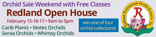 Redland Professional Orchid Growers - Redland Open House Weekend