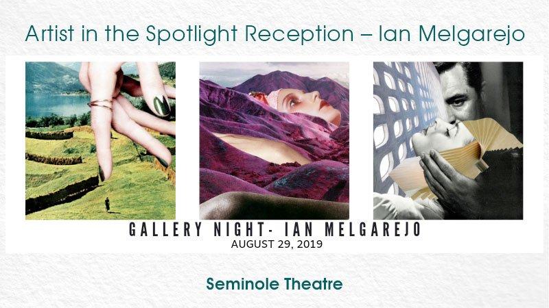 Gallery Night Reception for Ian Melgarejo