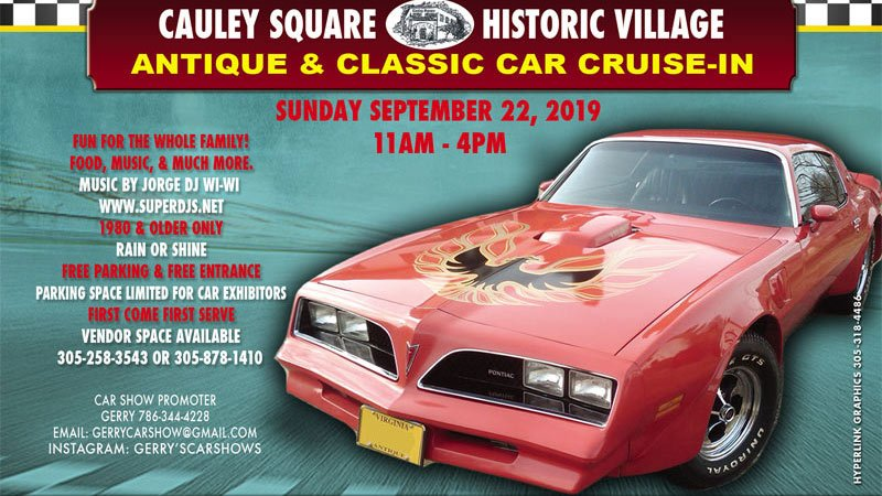 Cauley Square Antique and Classic Car Show