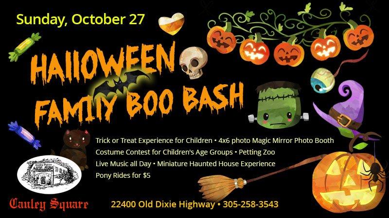 Halloween Family Boo Bash at Cauley Square
