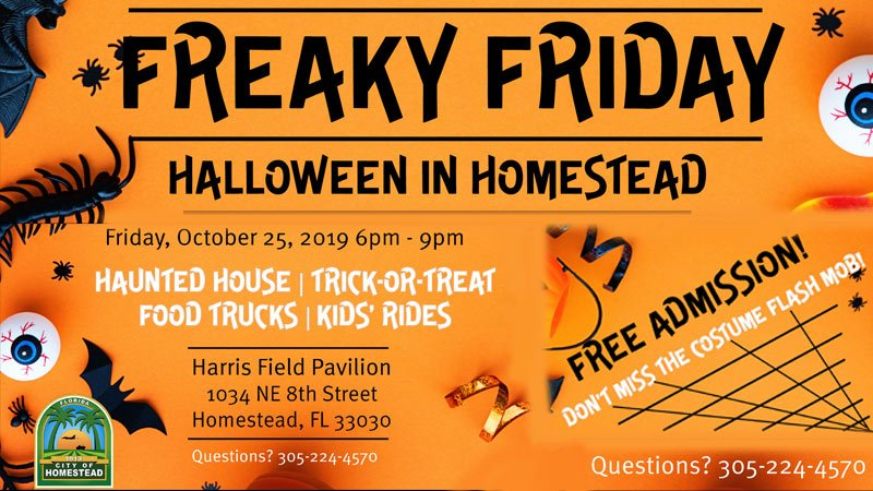 Halloween Comes to Homestead for Freaky Friday