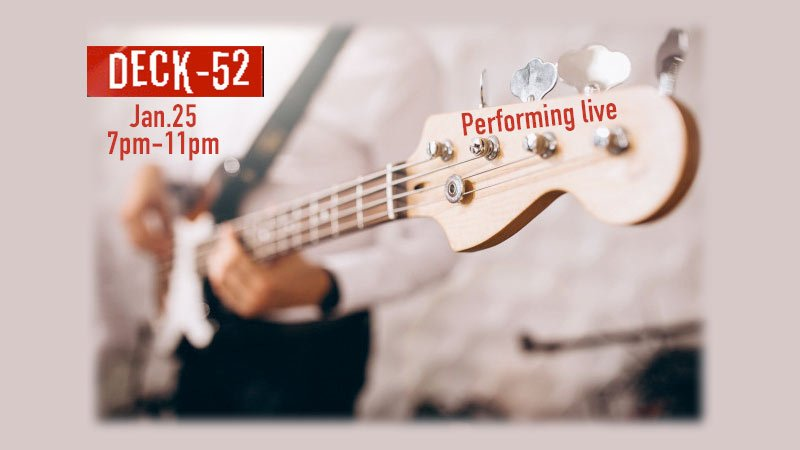 Deck 52 band live at Miami Brewing Company