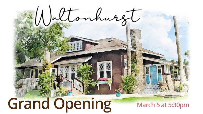 Waltonhurst Grand Opening and Ribbon Cutting